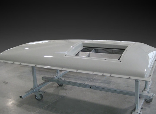 Roof box aircondition
