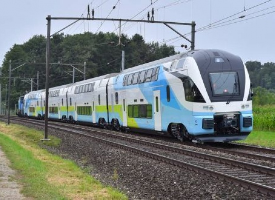 Stadler KISS front end